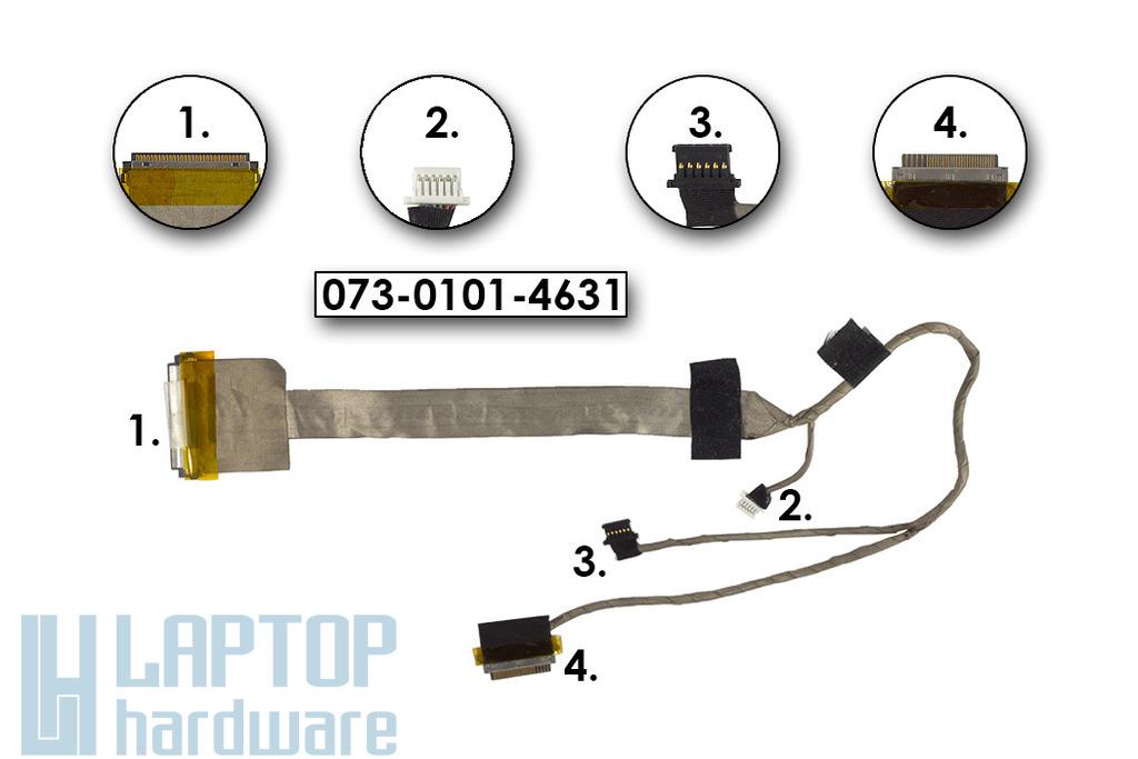 Sony Vaio VGN-FW sorozatú laptophoz használt LCD kábel, 073-0101-4631