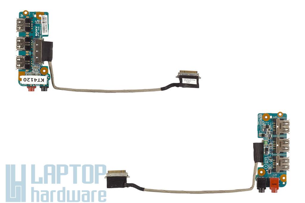 Sony Vaio VGN-FW sorozatú laptophoz használt USB/Audio panel kábellel, CNX-409