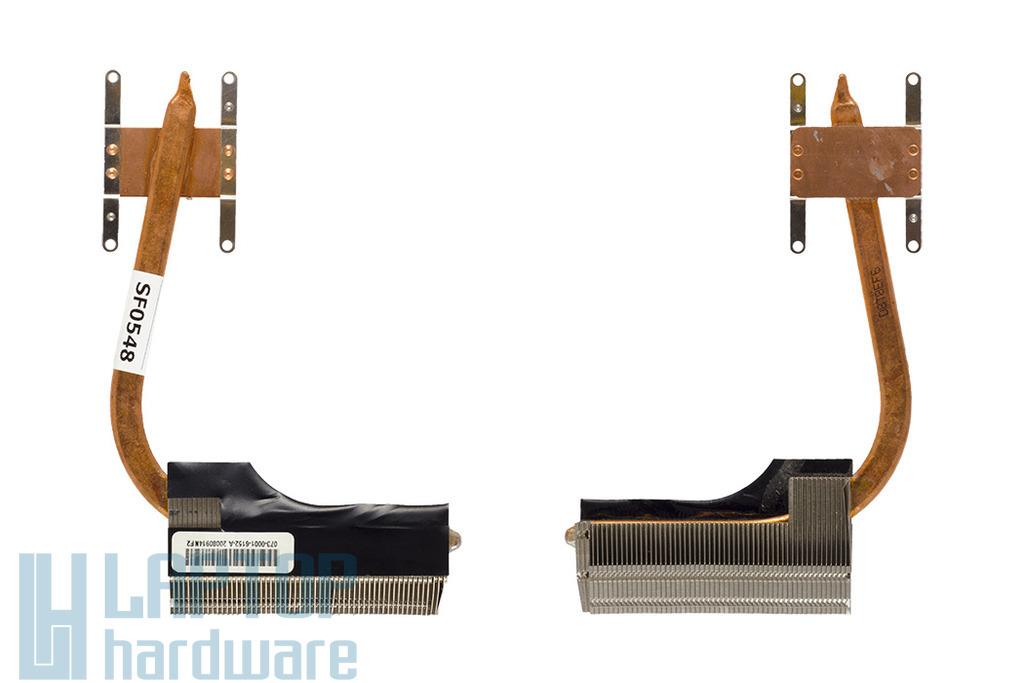 Sony Vaio VGN-FW270J, PCG-3D3L használt hőelvezető cső, heatsink (073-0001-6152-A)