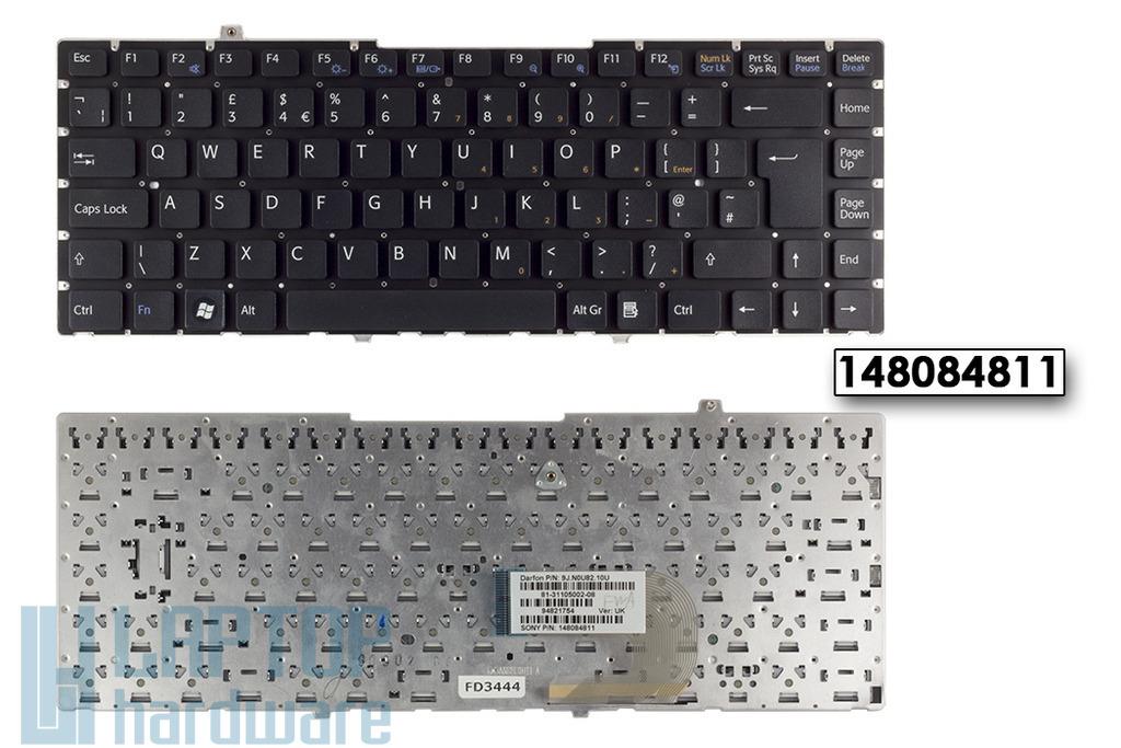 SONY VAIO VGN-FW31J gyári új UK angol laptop billentyűzet, 148084811