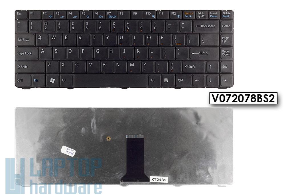SONY VAIO VGN-NS31M, VGN-NS36E gyári új US angol laptop billentyűzet, V072078BS2