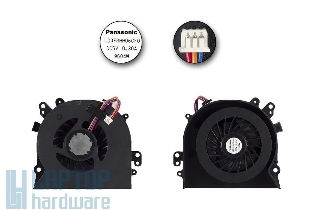 SONY Vaio VGN-NW, PCG-7186M gyári új laptop hűtő ventilátor (UDQFRHH06CF0)