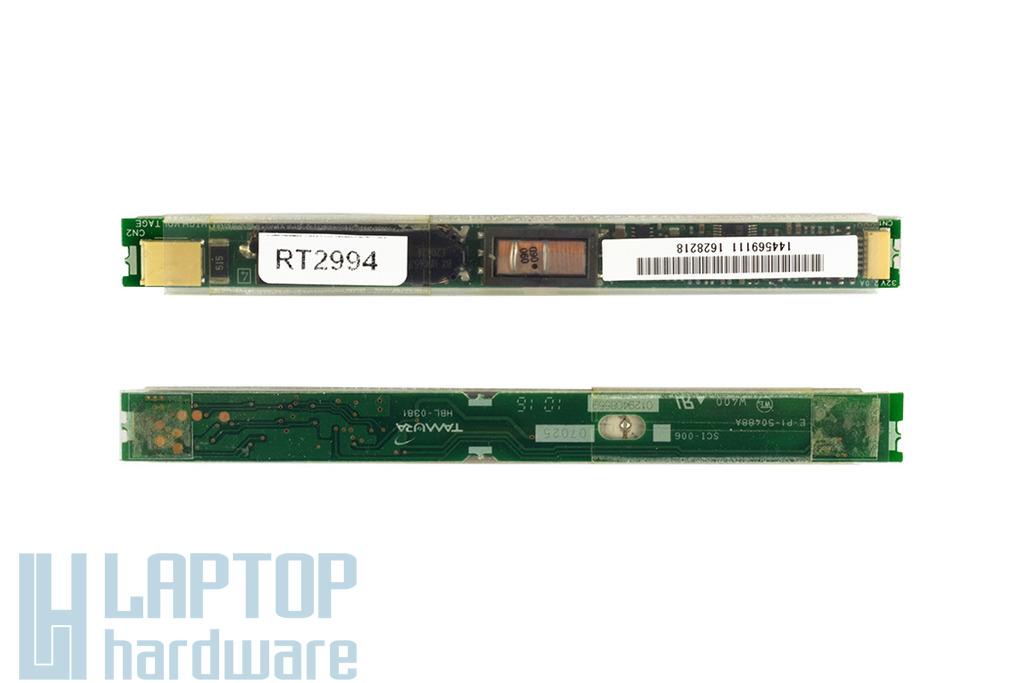 Sony Vaio VGN-NW, VGN-CS laptophoz használt LCD inverter (Tamura HBL-0362, E-P1-50438A)