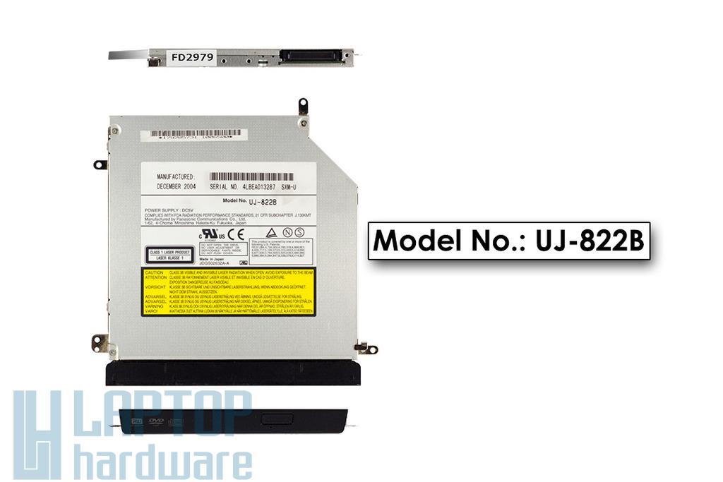 Sony Vaio VGN-S laptop gyári használt Ultra Slim 9.5mm DVD Író, UJ-822B