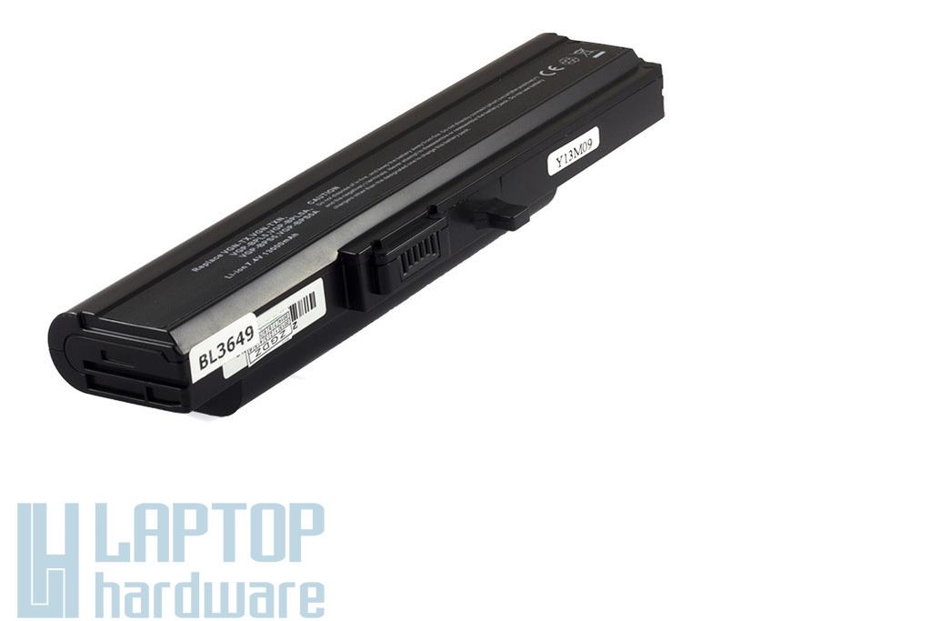 Sony Vaio VGN-TX helyettesítő új 10 cellás fekete laptop akku/akkumulátor (VGP-BPS5)