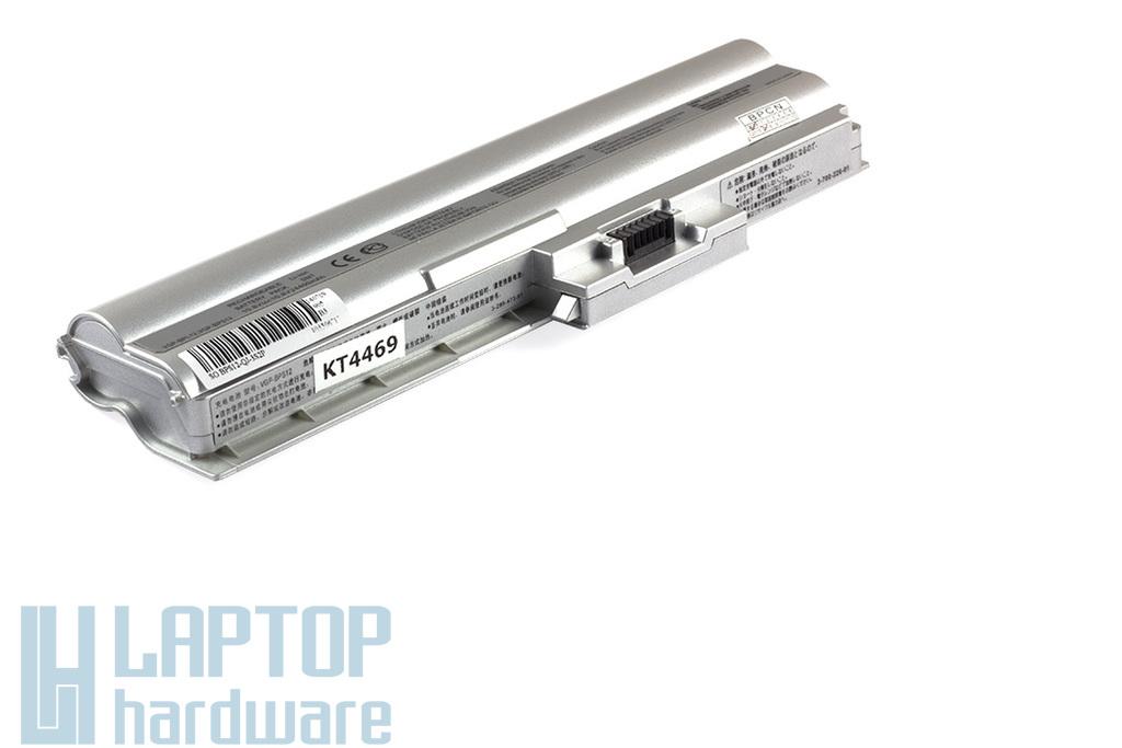 Sony Vaio VGN-Z sorozat VGP-BPL12, VGP-BPS12 helyettesítő új 6 cellás szürke laptop akku/akkumulátor