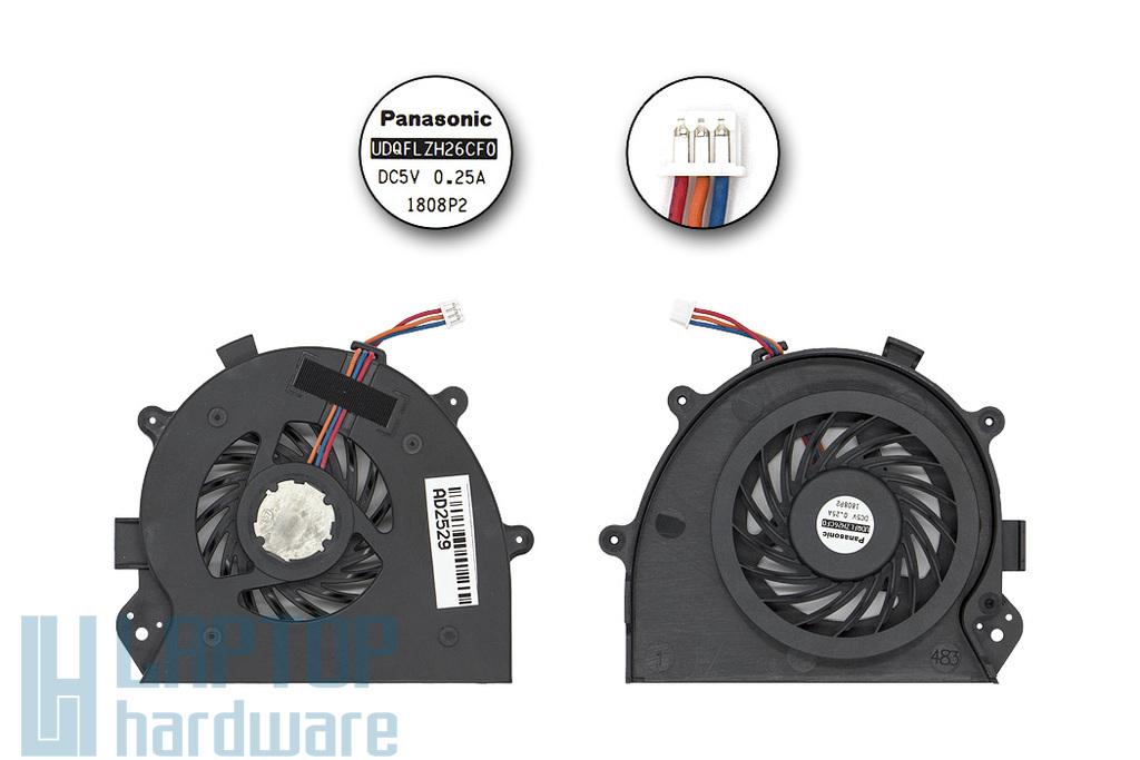Sony Vaio VPC-CA, VPC-CB gyári új laptop hűtő ventilátor  (UDQFLZH26CF0)