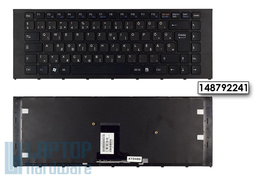 Sony Vaio VPC-EA gyári új magyarított fekete billentyűzet (148792241)