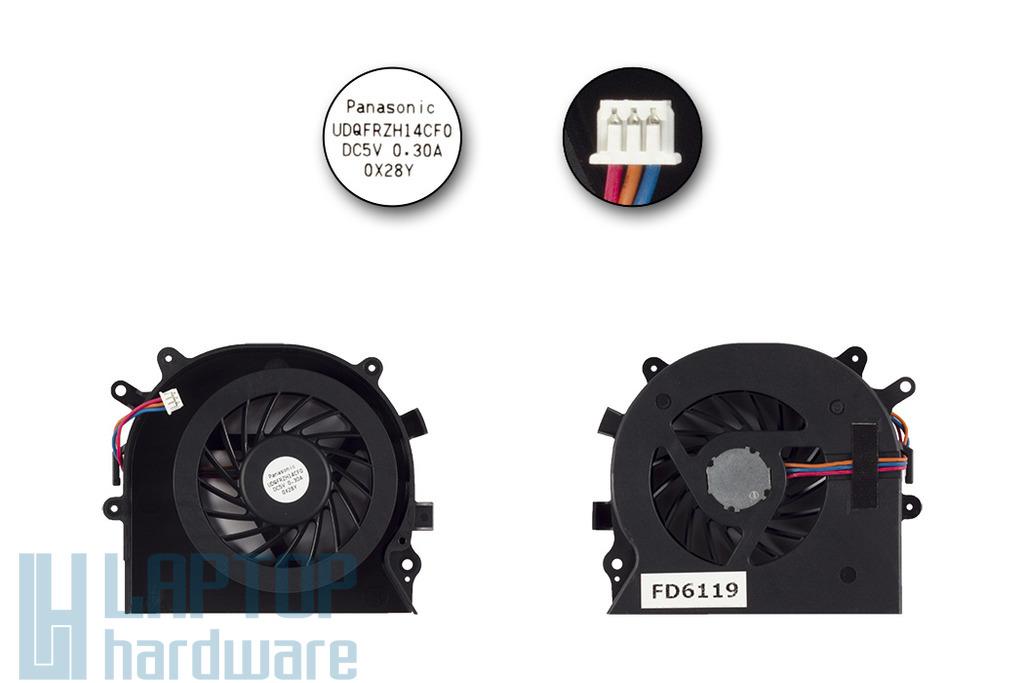 Sony Vaio VPC-EA, VPC-EB gyári új laptop hűtő ventilátor,  UDQFRZH14CF0