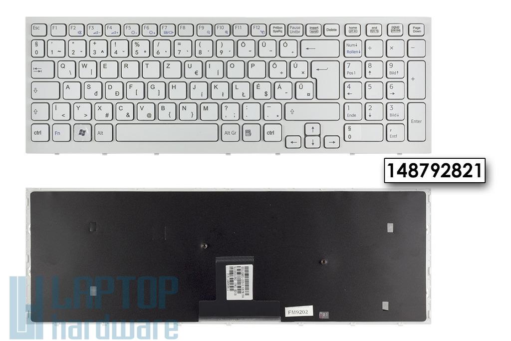 Sony Vaio VPC-EB gyári új magyarított fehér laptop billentyűzet (148792821)