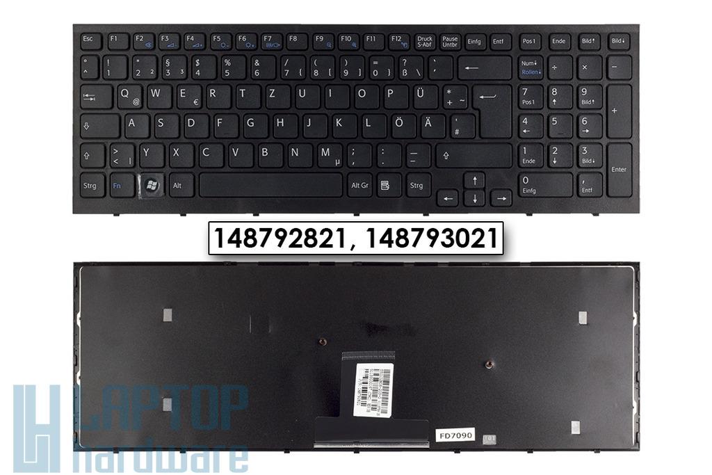 Sony Vaio VPC-EB gyári új német fekete laptop billentyűzet (148792821)