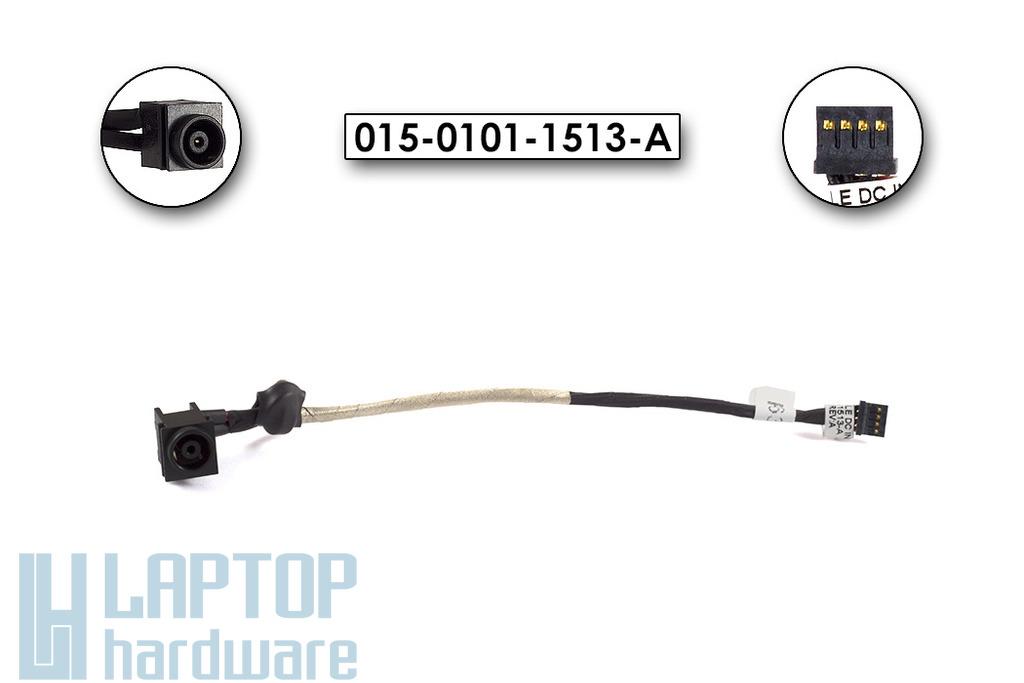 Sony Vaio VPC-EB laptop DC tápaljzat DC-Jack kábellel, 015-0101-1513-A