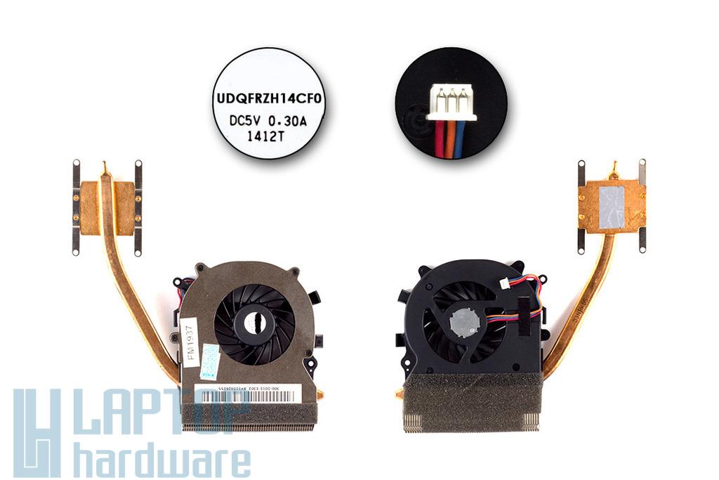 Sony Vaio VPC-EB laptop hűtő ventilátor egység,  UDQFRZH14CF0