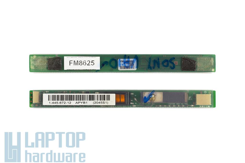 Sony Vaio VPC-EB, VPC-F laptophoz használt inverter, 1-445-672-12