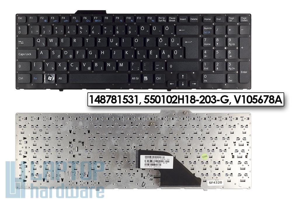 Sony Vaio VPC-F11, VPC-F12, VPC-F13 gyári új fekete magyar laptop billentyűzet, 148781531