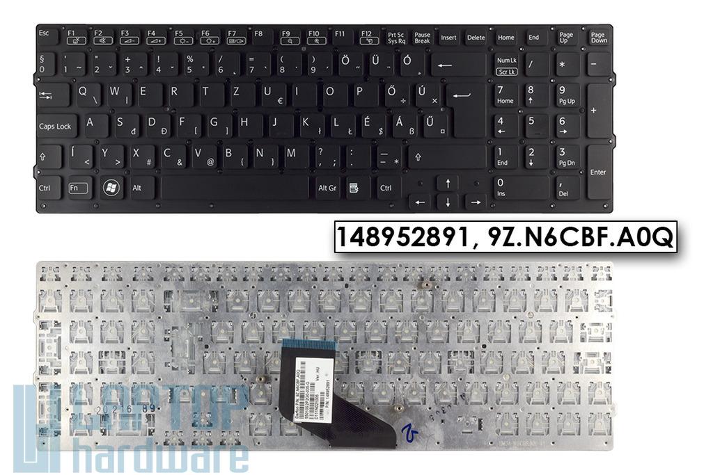 Sony Vaio  VPC-F21, VPC-F22, VPC-F23, VPC-F24, gyári új fekete magyar laptop billentyűzet, 148952891