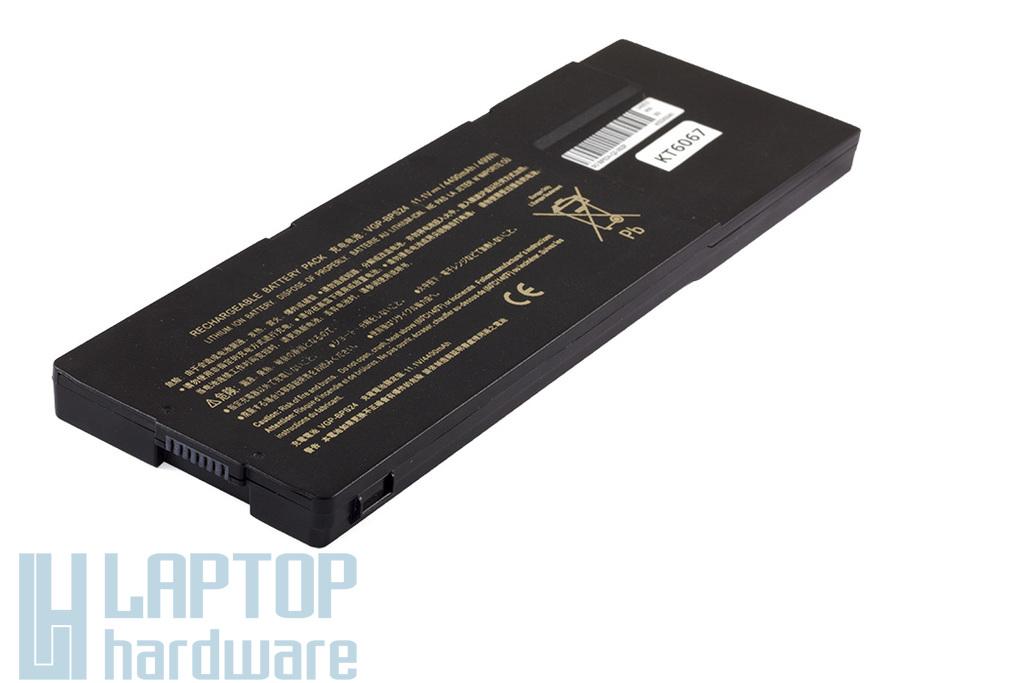 Sony Vaio VPC-SA, VPC-SB, VPC-SC, VPC-SE sorozat helyettesítő új 6 cellás fekete laptop akku/akkumulátor  VGP-BPS24