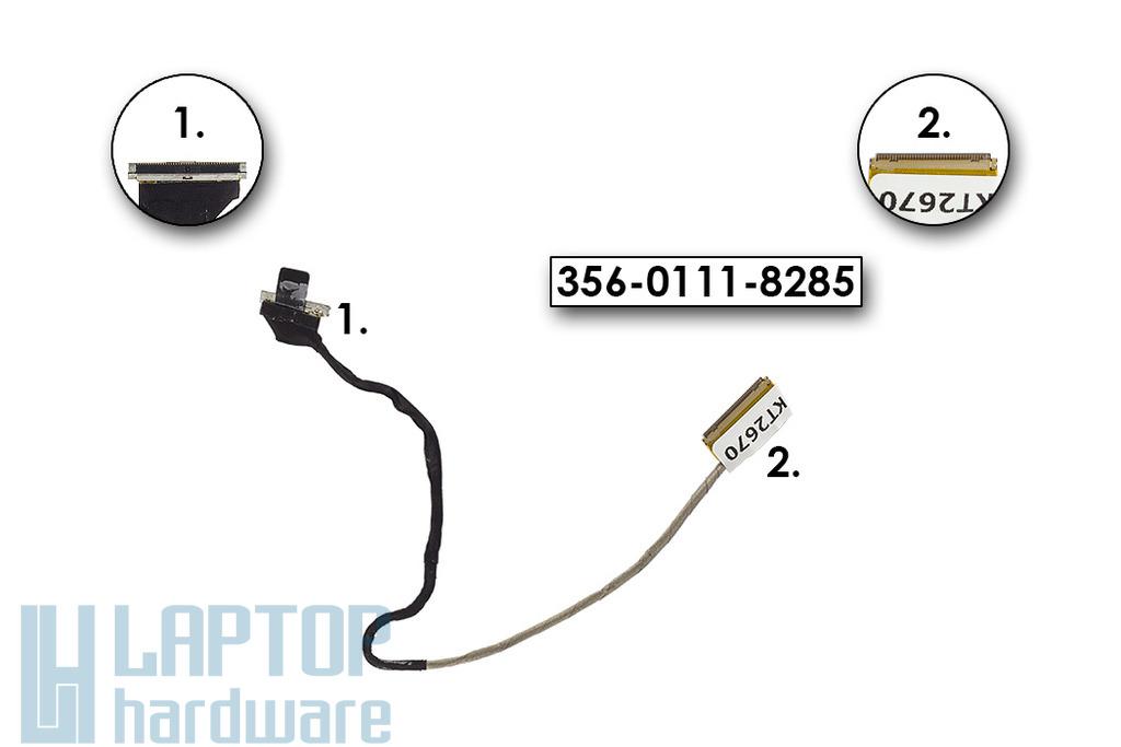 Sony Vaio VPC-SC gyári új LCD kijelző kábel, 356-0111-8285