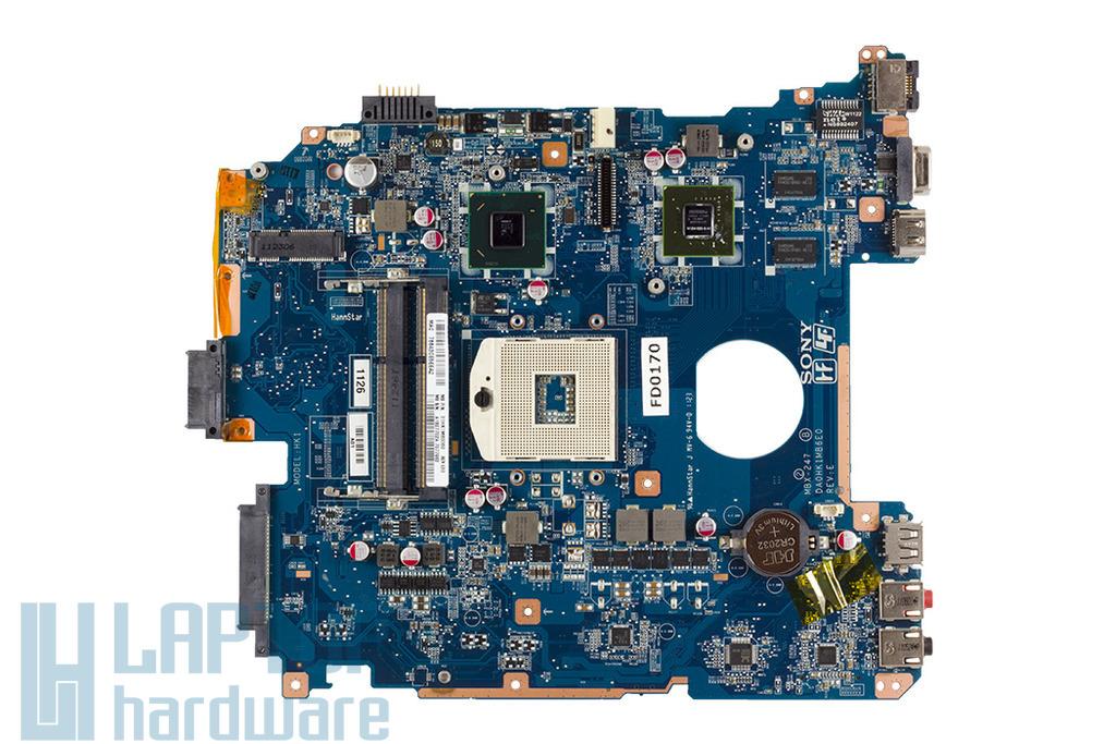 Sony VPC-EH, PCG-71811M laptophoz használt alaplap, motherboard, DA0HK1MB6E0