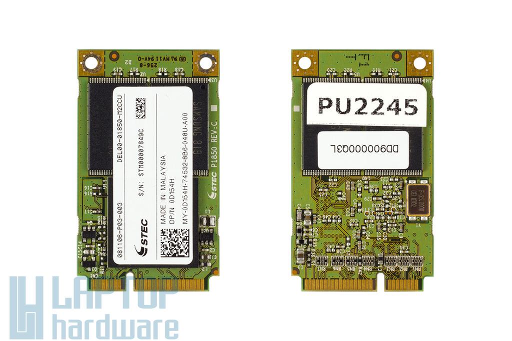 Stec 8GB használt SSD Mini PCIe kártya (0D154H)