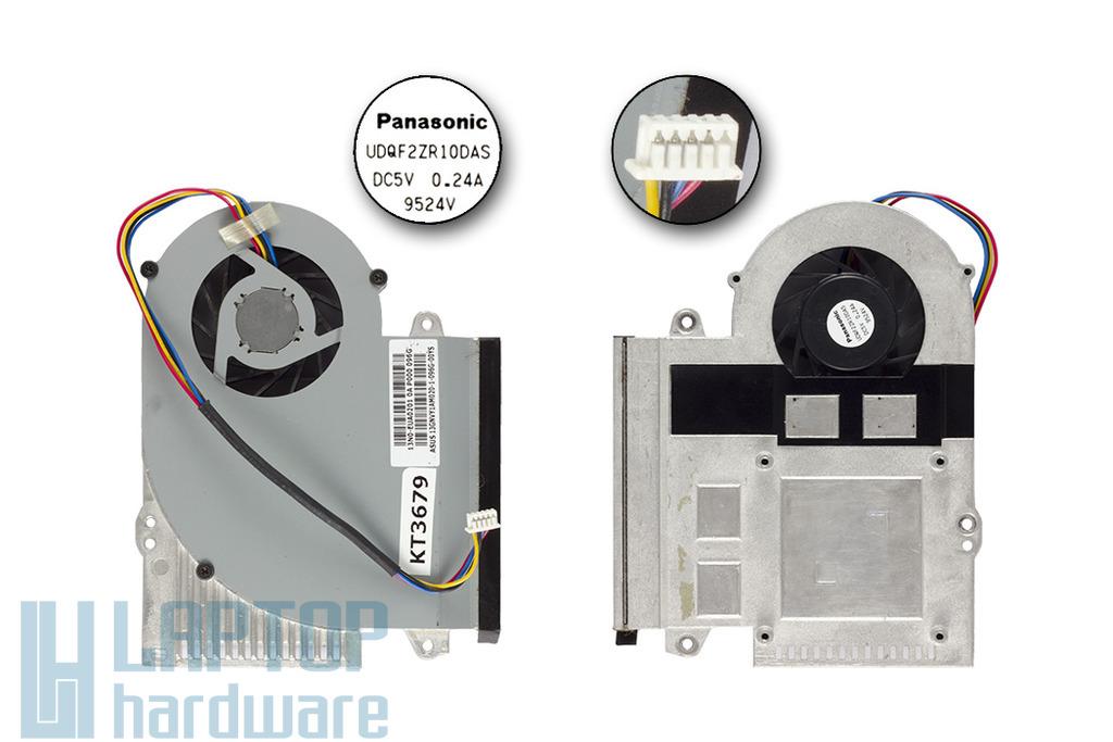 Asus K70AB laptophoz használt VGA hűtő ventilátor 13GNVY1AM020