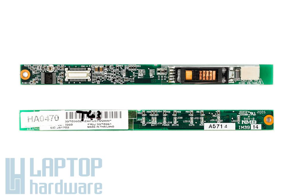 ThinkPad T40, T41, T43 LCD inverter 39T0360
