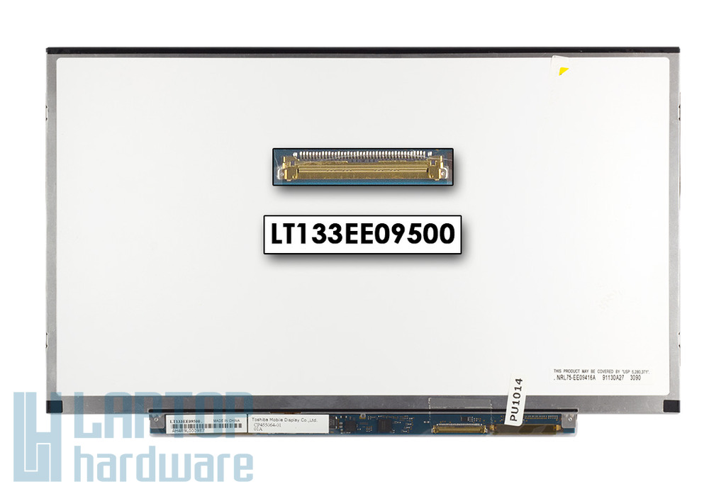 Toshiba 13.3'' HD Slim LED laptop kijelző, LT133EE09500, Fujitsu part number: CP455064-01