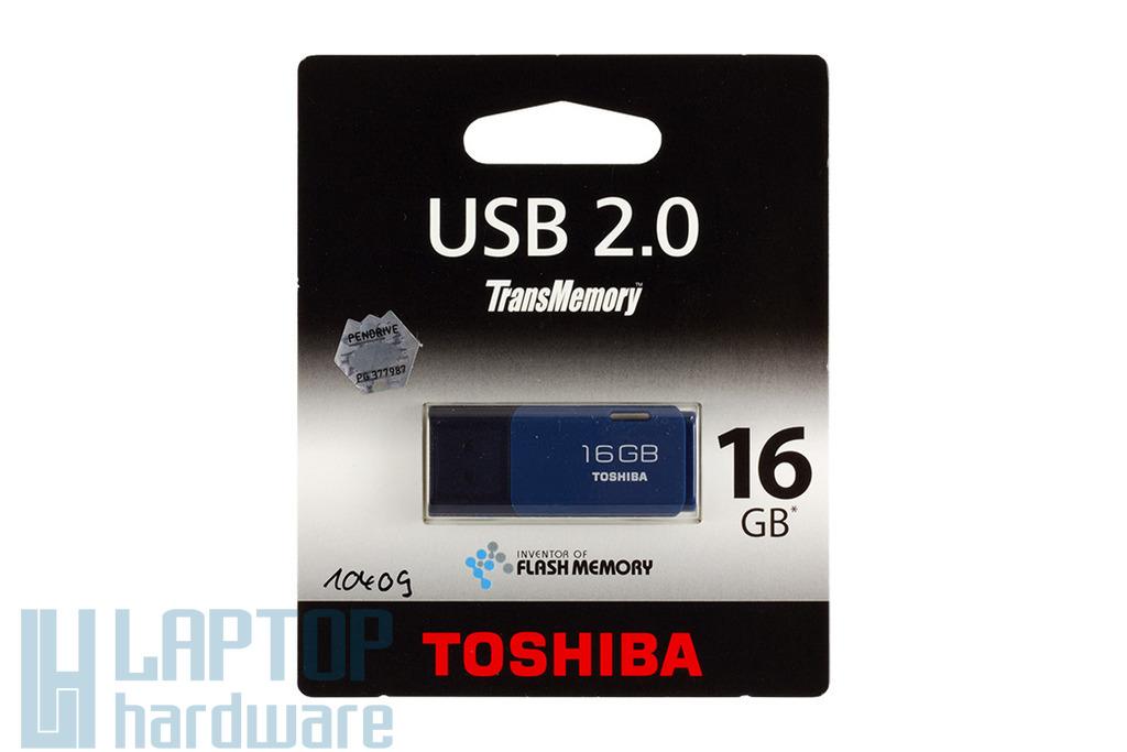 Toshiba 16GB kék pendrive (THNU16HAYBLUE)