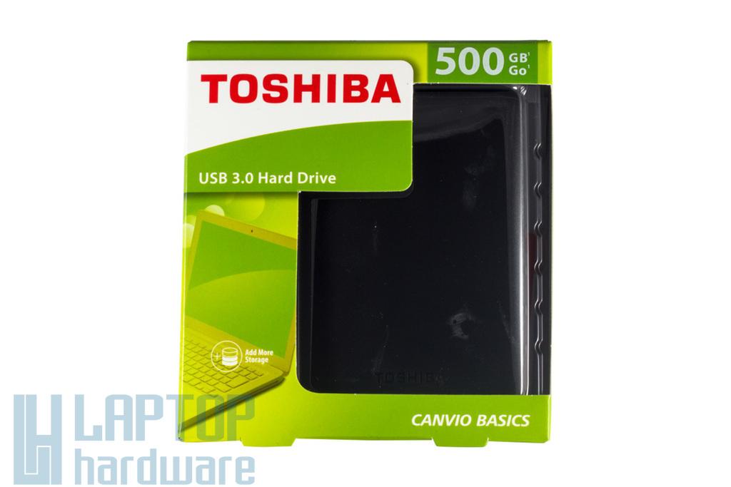 """Toshiba 2,5"""" 500GB USB 3.0 külső winchester, (HDTB305EK3AA)"""