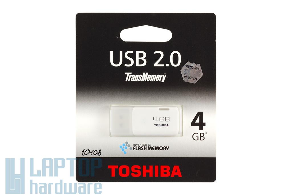Toshiba 4GB fehér pendrive (THNU04HAY)