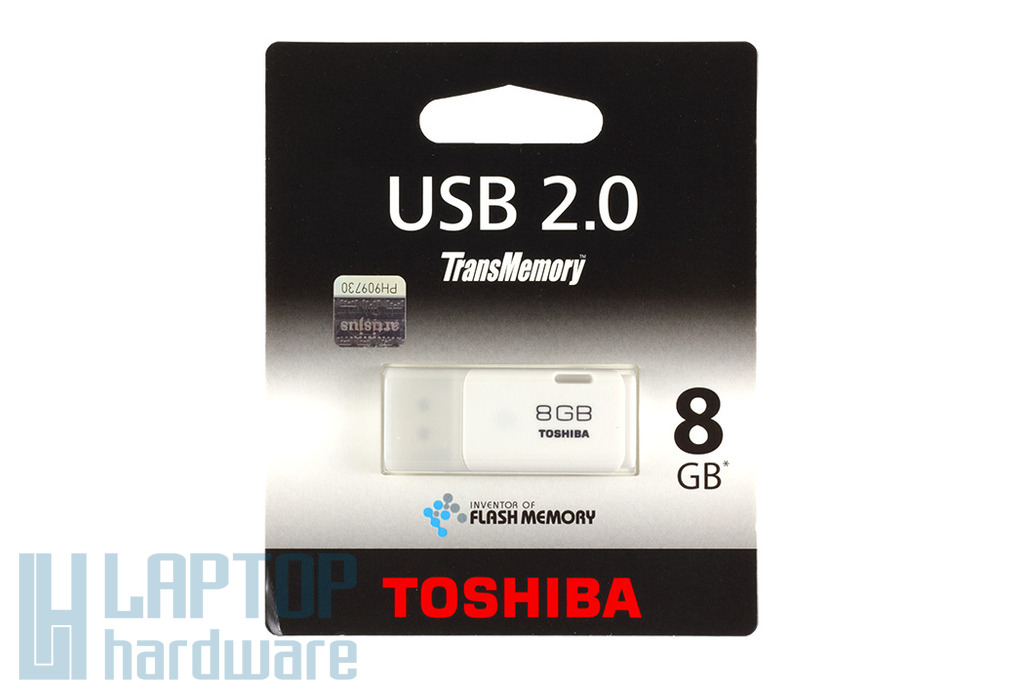 Toshiba 8GB fehér pendrive (THNU08HAY)