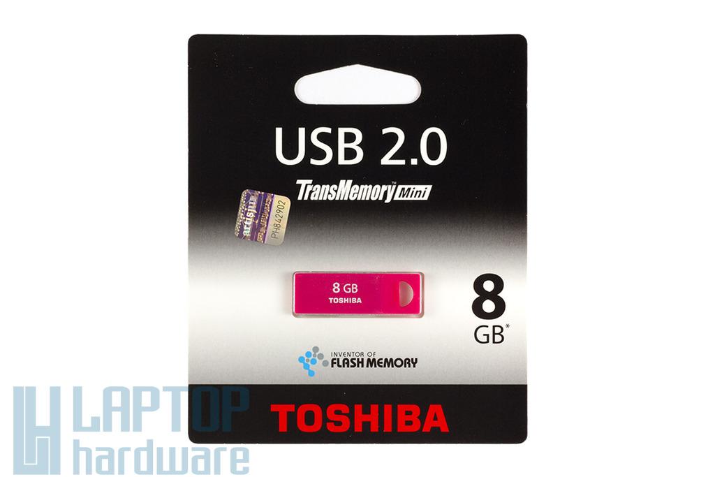Toshiba 8GB rózsaszín mini pendrive (THNU08ENSRED)