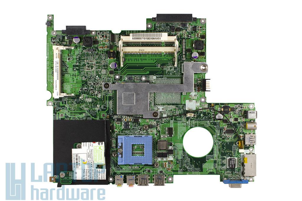 Toshiba Equium L10 laptophoz használt alaplap (DA0EW3MB6D1)