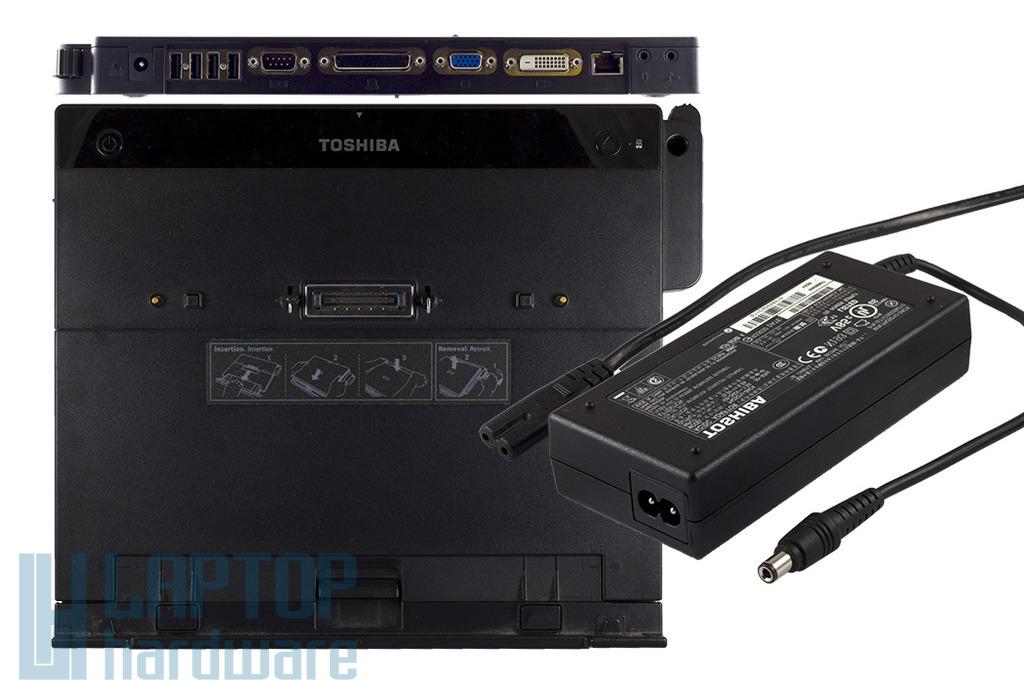 Toshiba Express Port Replicator II dokkoló, töltővel, PA3680U-1PRP - Akciós