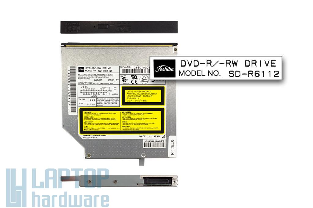 Toshiba használt IDE laptop DVD-író (SD-R6112)