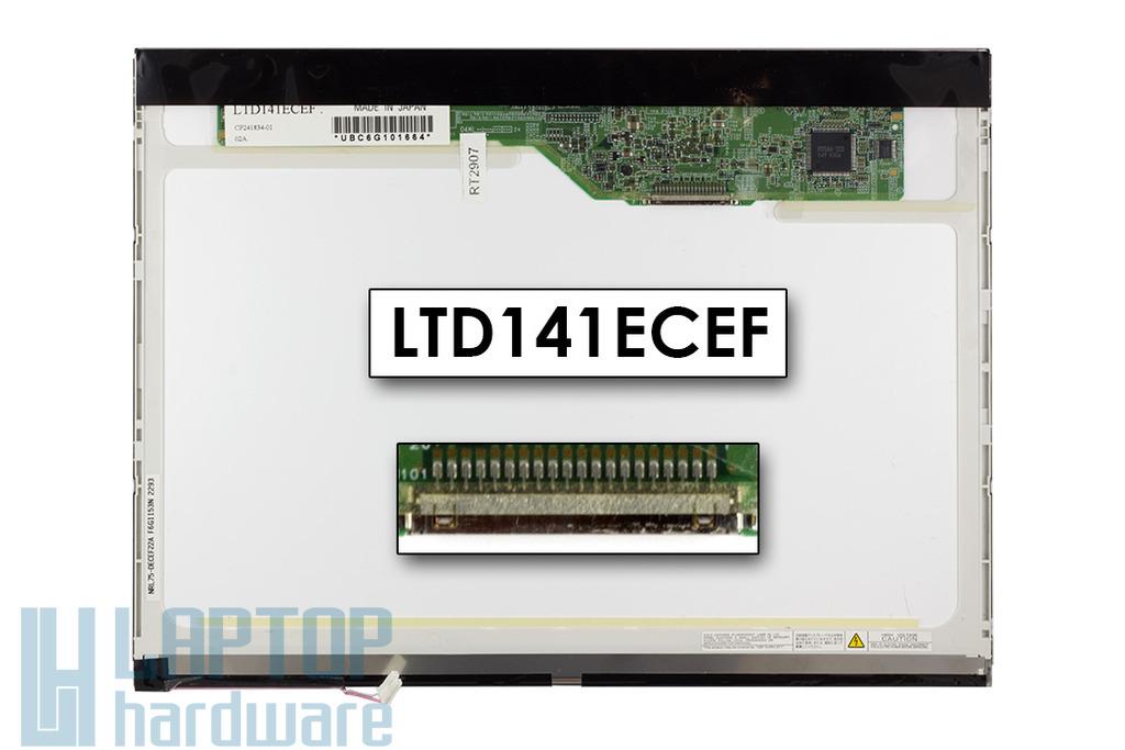 Toshiba LTD141ECEF 14,1 inch CCFL XGA használt laptop kijelző