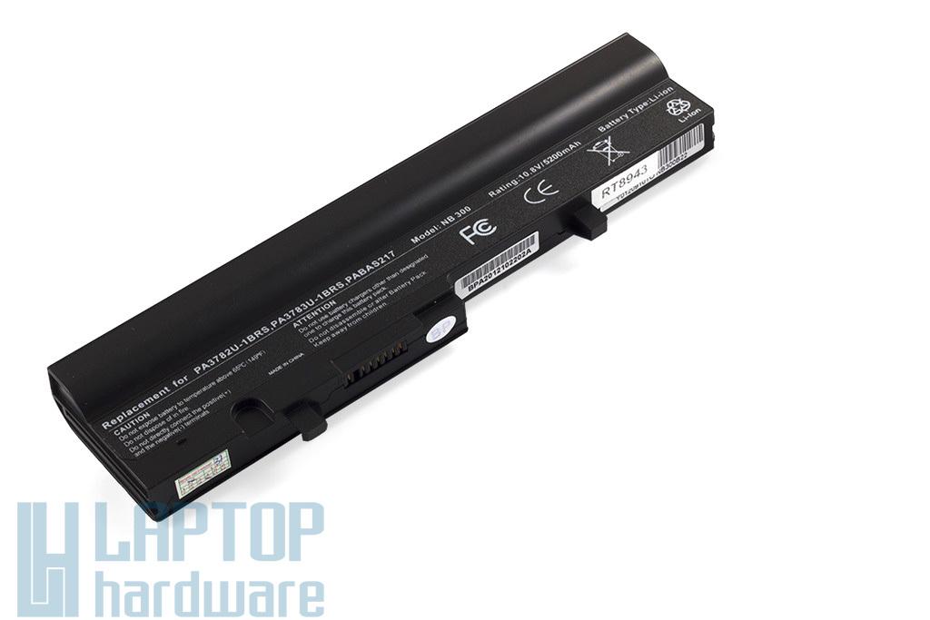 Toshiba Mini NB300, NB303, NB305 helyettesítő új 6 cellás laptop akku/akkumulátor (PA3784U, PA3785U)