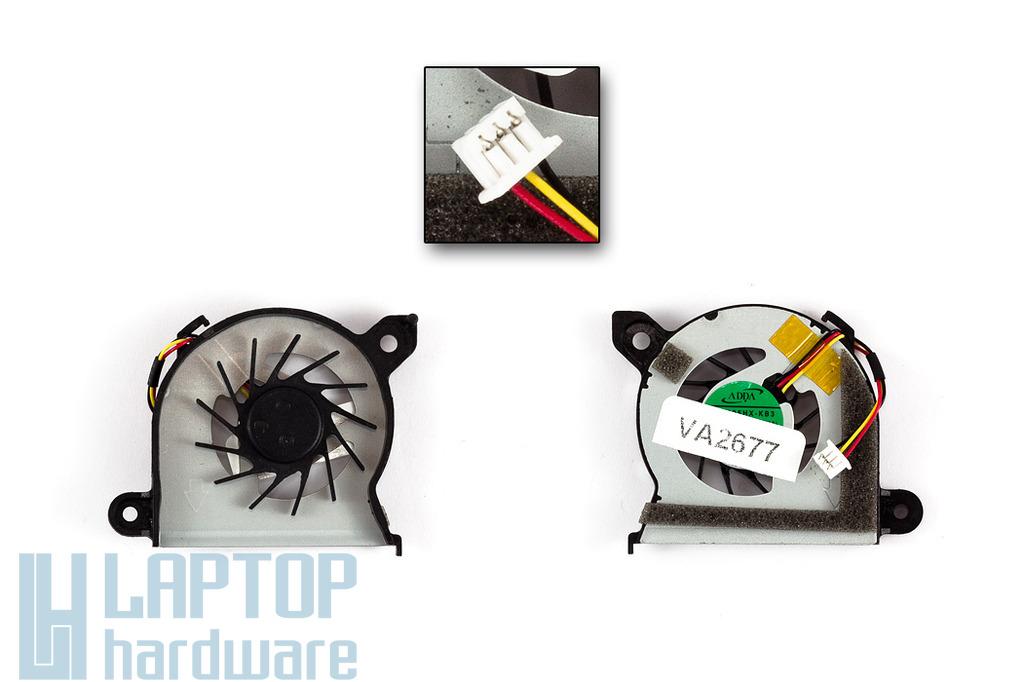 Toshiba Mini NB300, NB305 gyári új netbook hűtő ventilátor (AB4105HX-KB3)