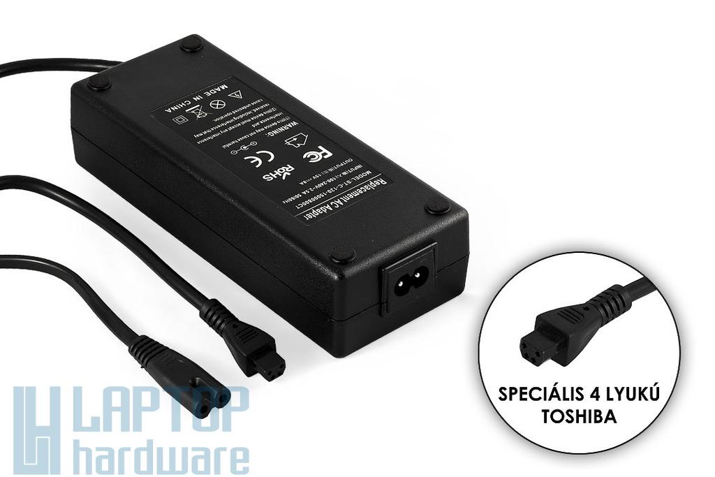 Toshiba PA3237E-3AC3 15V 8A 120W helyettesítő új laptop töltő (PA3237E-3AC3, P-120-0N)