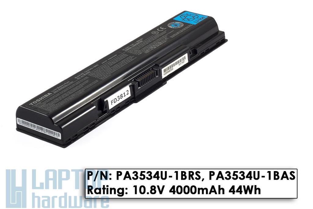 Toshiba PA3534U-1BRS használt 50%-os gyári laptop akkumulátor