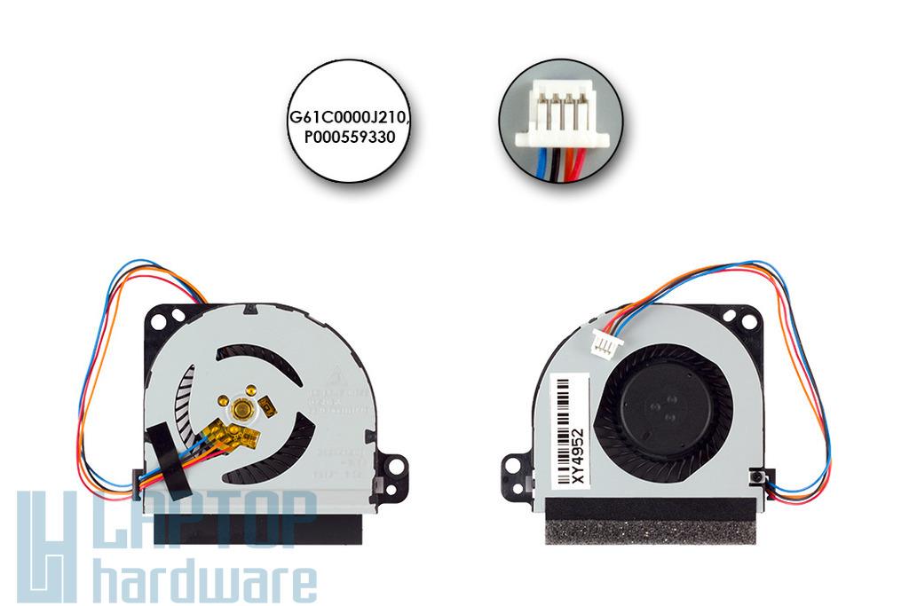 Toshiba Portege Z830, Z835, Z930, Z935 gyári új hűtő ventilátor (P000586100)