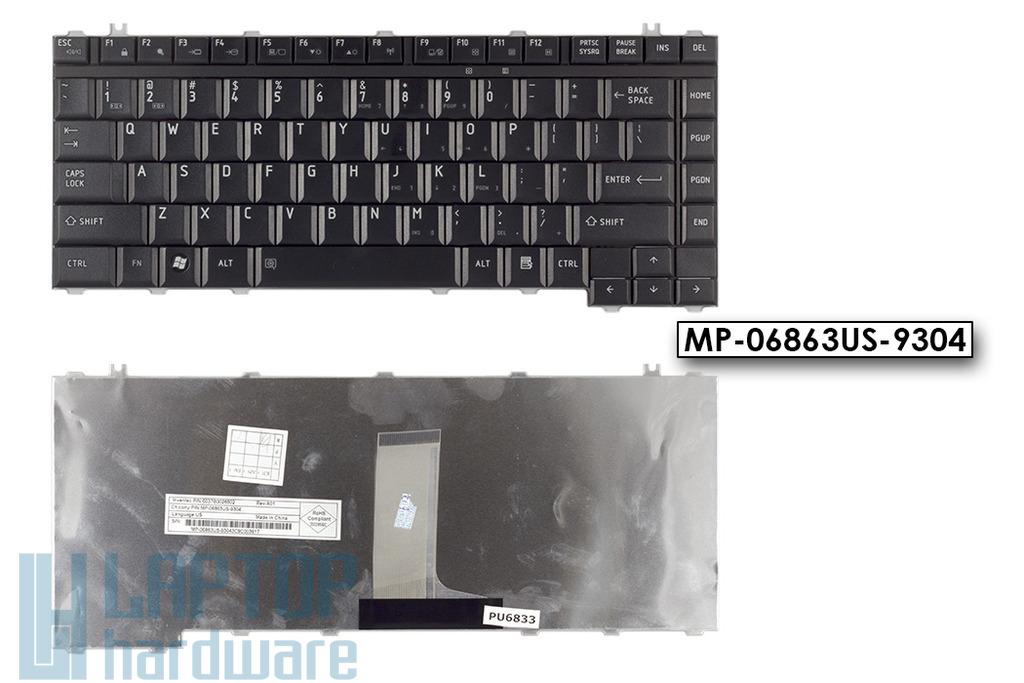 Toshiba Qosmio F25 G20 G25 G30 G35 gyári új US angol laptop billentyűzet, MP-06863US-9304