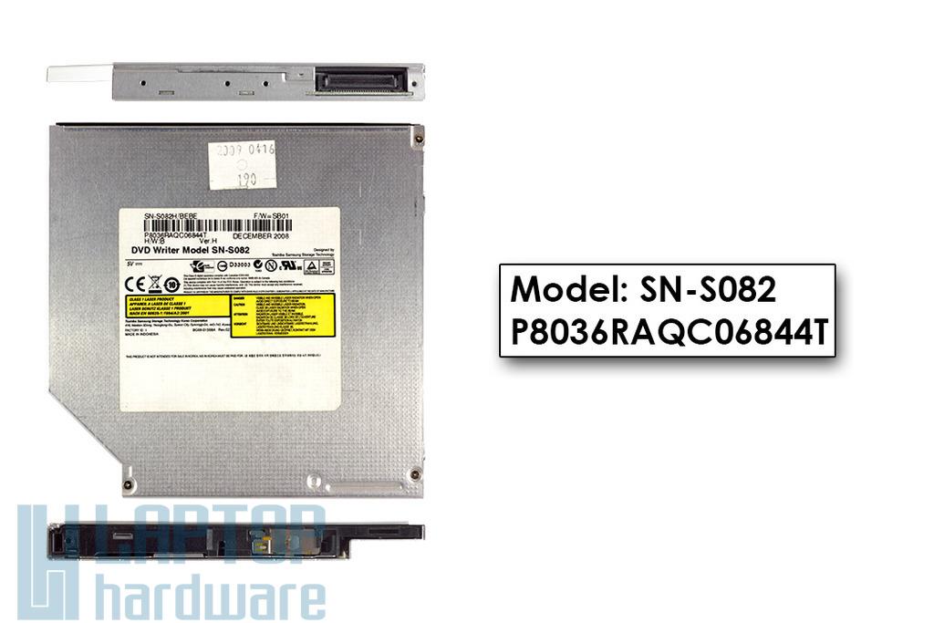 Toshiba Samsung használt laptop IDE DVD író, SN-S082