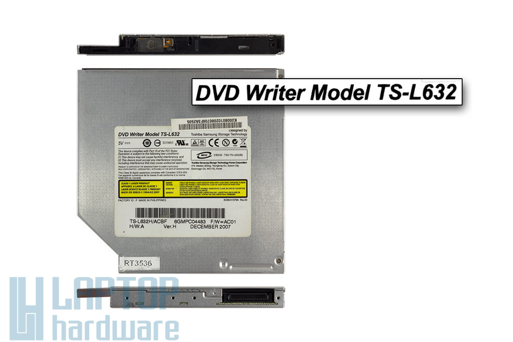 Toshiba Samsung TS-L632 használt IDE laptop DVD-író - Akciós