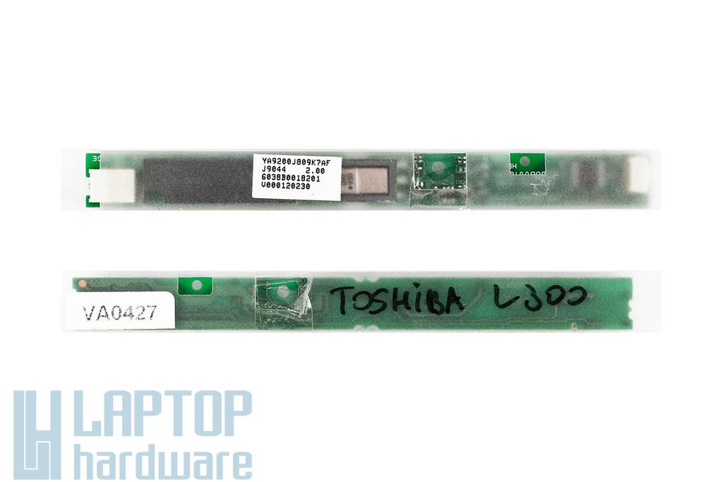 Toshiba Satelite A300, L300, L300D LCD Inverter PZI-0701-0701
