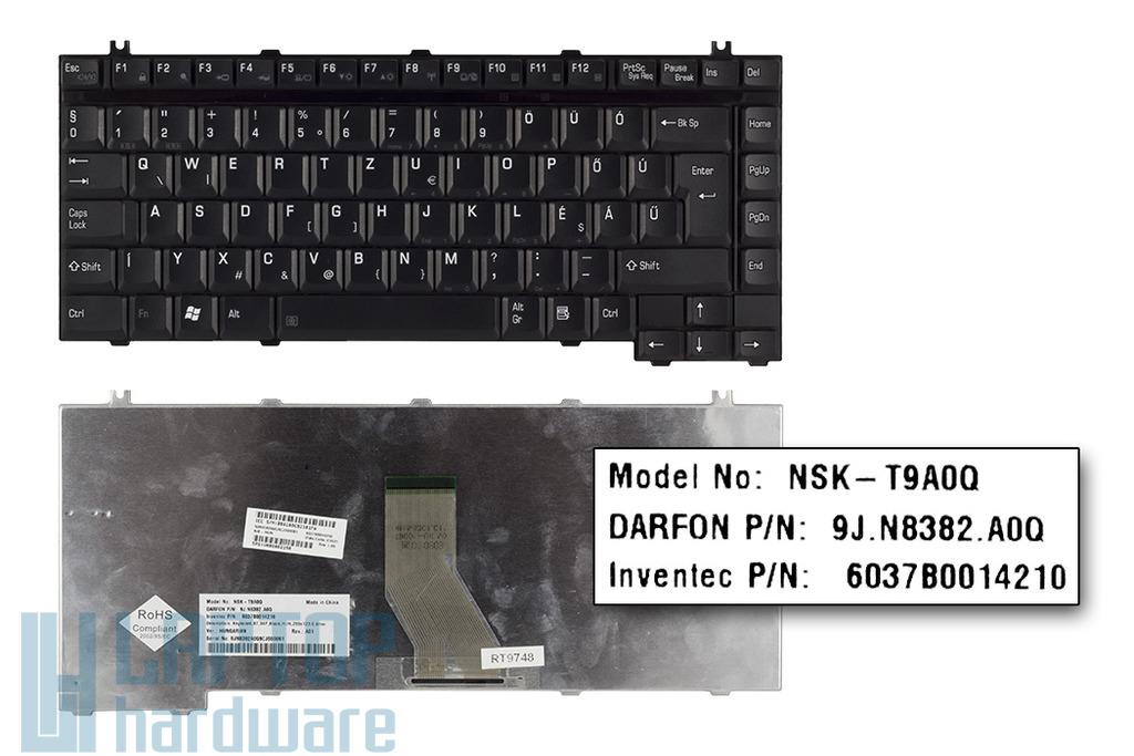 Toshiba Satellite 1400, A10, A100 gyári új magyar laptop billentyűzet (NSK-T9A0Q)