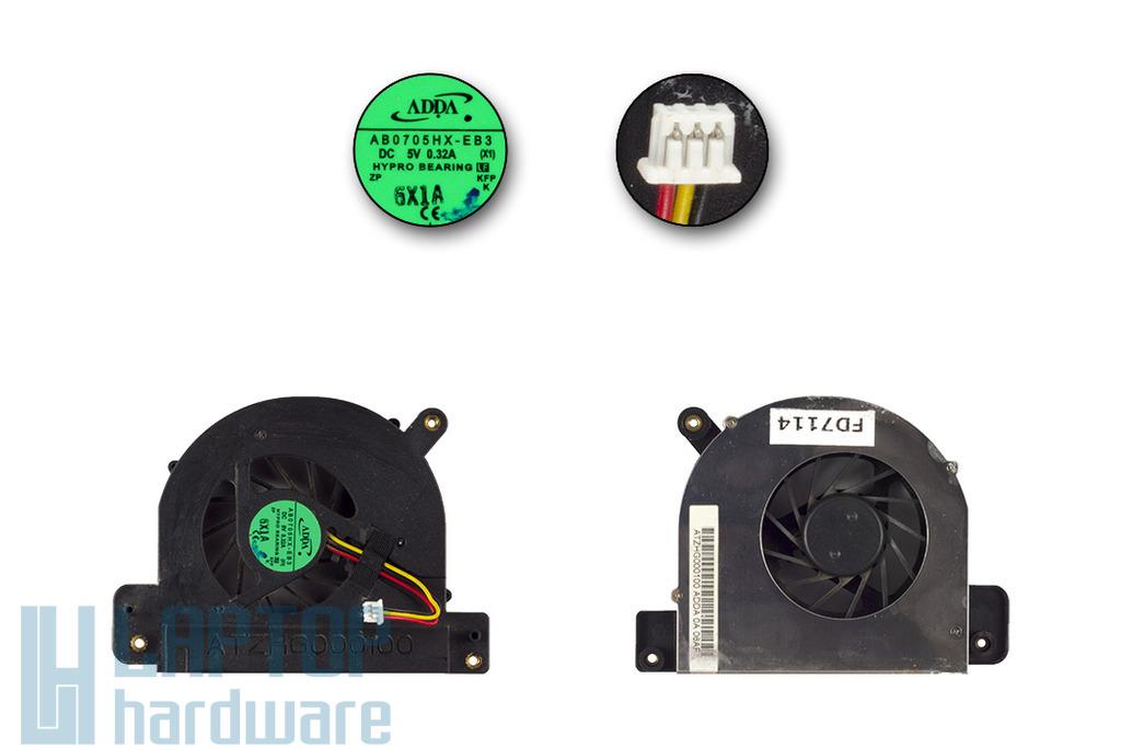 Toshiba Satellite A110 használt laptop hűtő ventilátor (ATZHG000100)