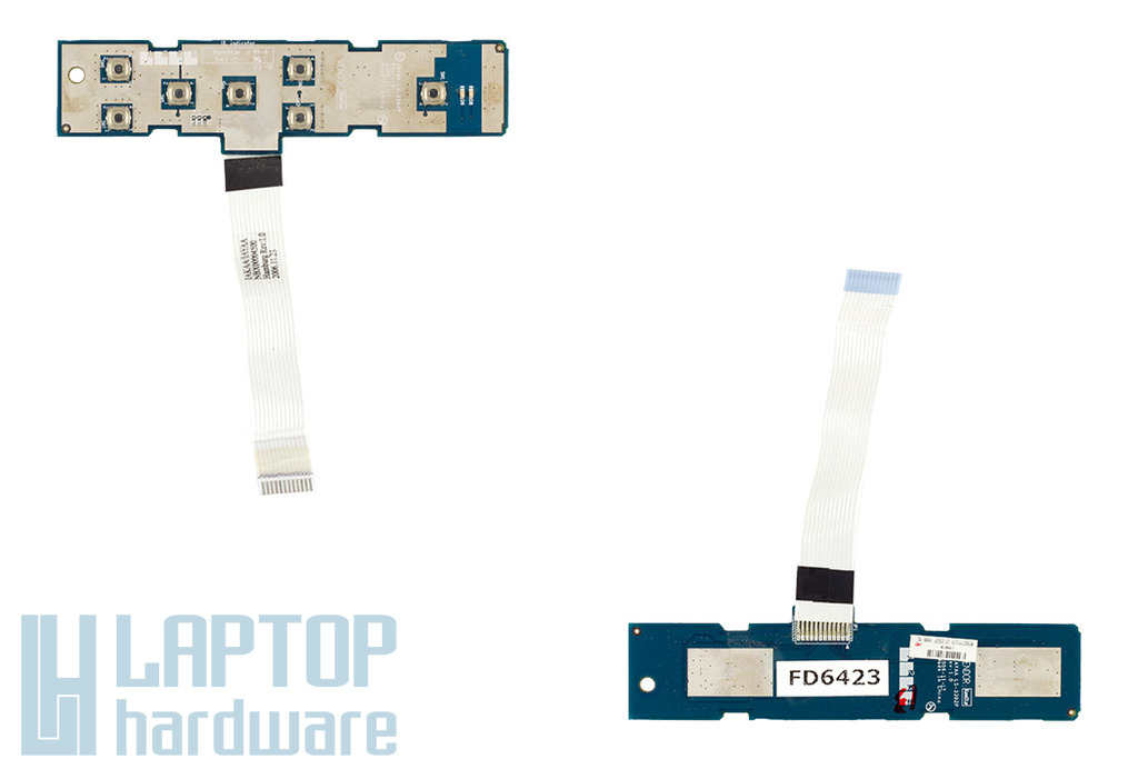Toshiba Satellite A130, A135 bekapcsoló panel, LS-3392P