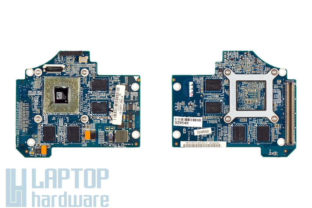 Toshiba Satellite A200, A205, A210 laptophoz használt Video-VGA kártya, ATI HD2600, 512MB, LS-3481P