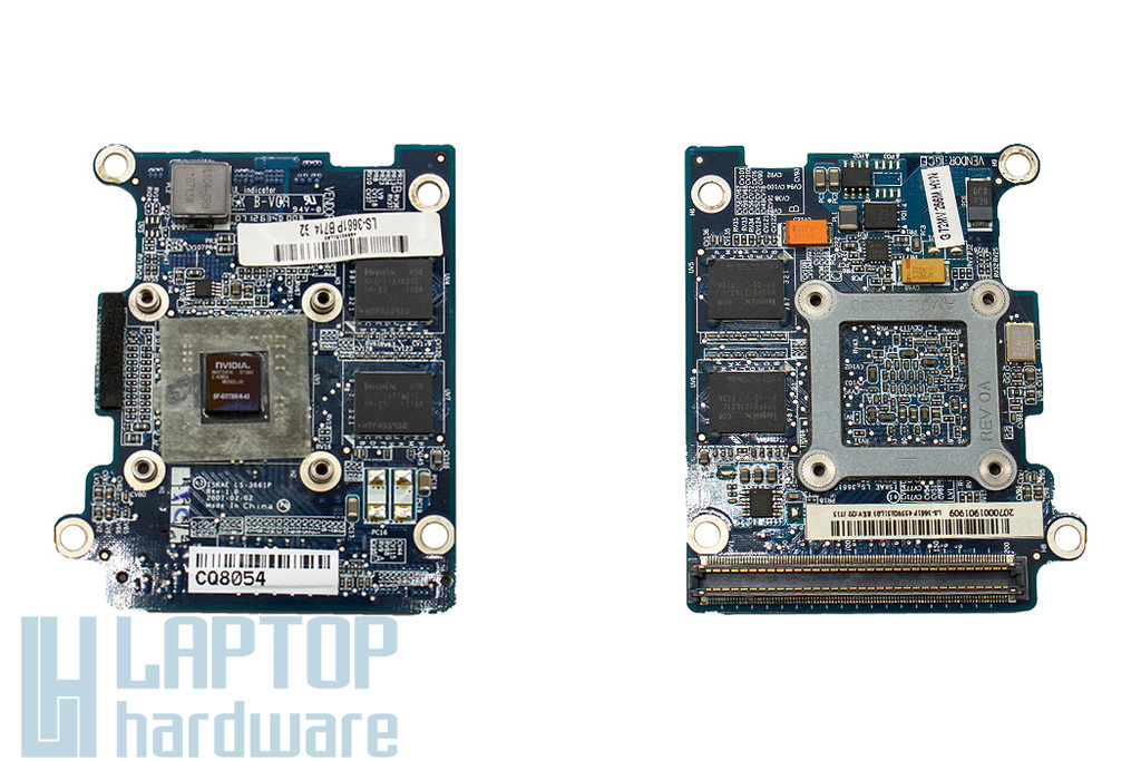 Toshiba Satellite A200, A205, A210 laptophoz használt VGA videokártya, Nvidia GeForce Go 7300, 256MB (K000049880, LS-3661P)